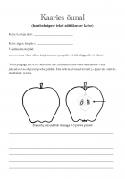 Tööleht: Kaaries õunal
