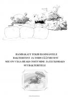 Värvimisleht: Bakterid ja katt